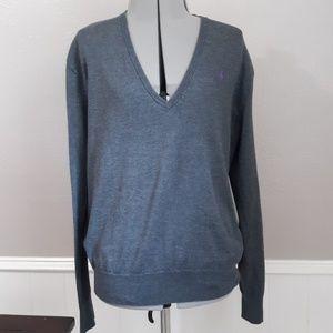 Polo ralph lauren v neck pullover
